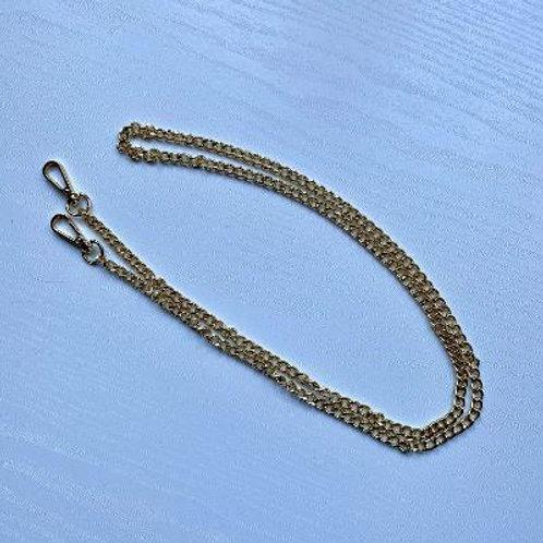 Gold Crossbody Chain Bag Strap