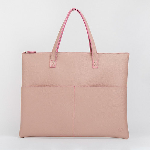 Pink Tech Tote Bag