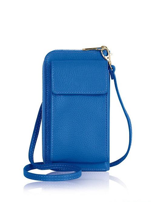 Cobalt Wallet/ Crossbody Phone Bag