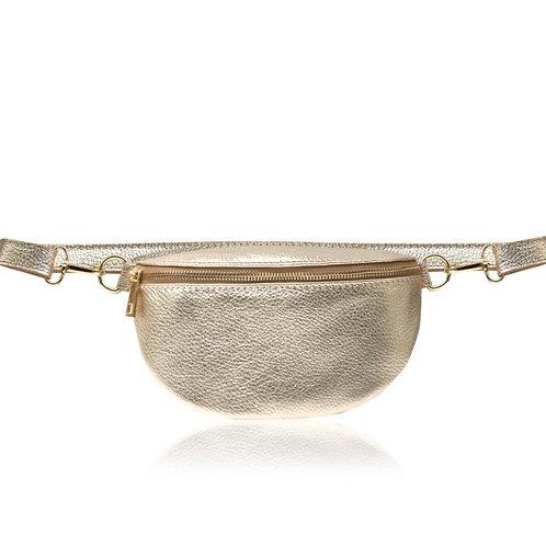 Gold Crossbody/ Waist Bag