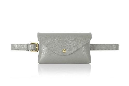 Grey Belt/ Crossbody Bag