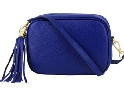 Cobalt Cross Body Bag with Tassel