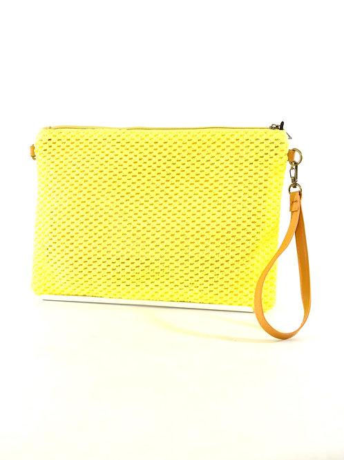 Bright Yellow Clutch Bag