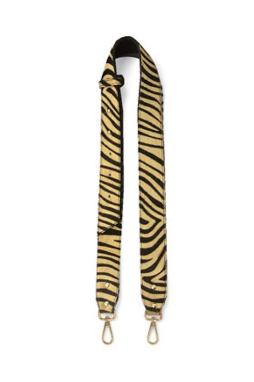 Tiger Print Leather Chunky Strap