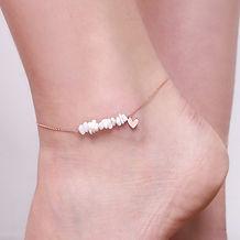 white-stone-heart-charm-anklet-rose-gold