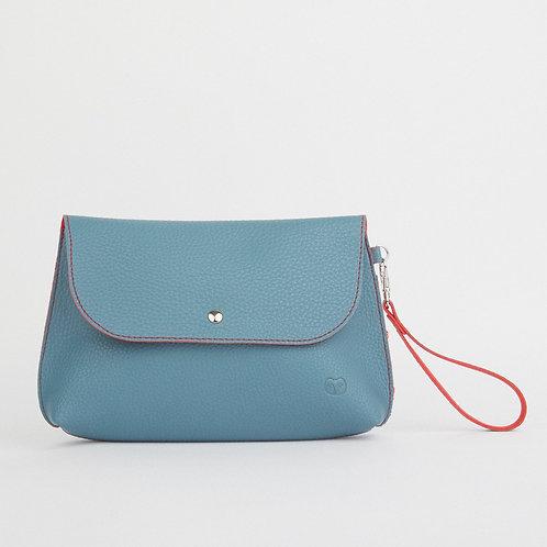 Teal Clutch Bag