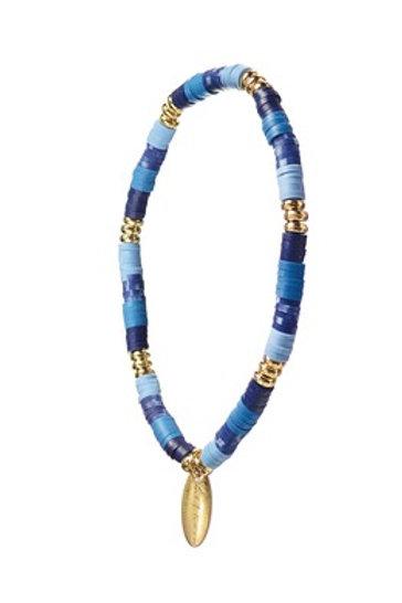 Blue Mix Beaded Bracelet