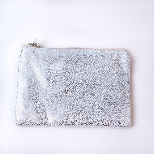 Silver Speckled Coin Purse