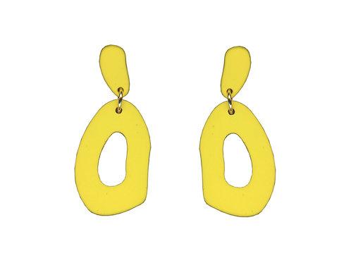 Bella Bright Yellow Drop Earrings