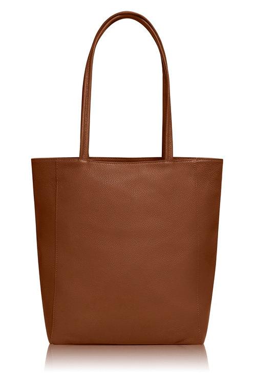 Tan Millie Tote Bag