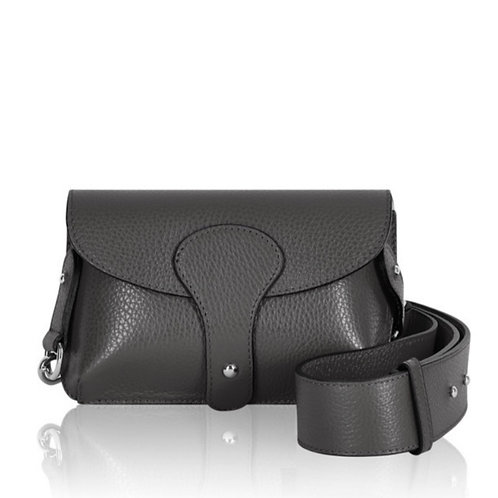 Dark Grey Chunky Strap Bag