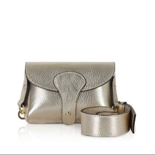 Gold Chunky Strap Bag