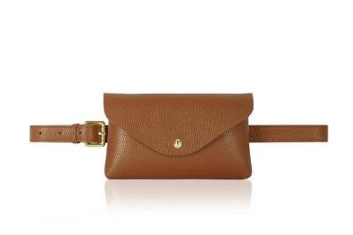 Dark Tan Belt/ Crossbody Bag