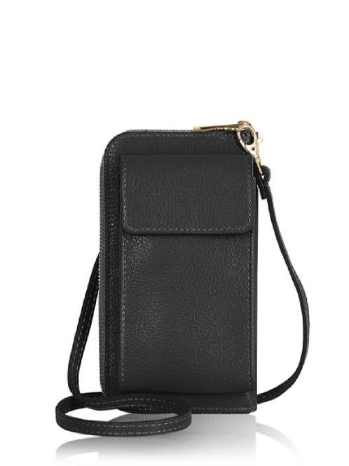 Black Wallet/ Crossbody Phone Bag