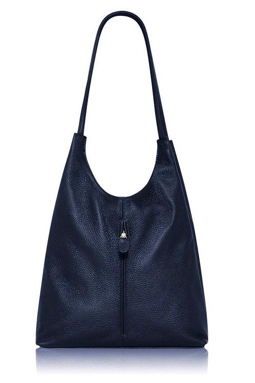 Navy Emma Tote Bag