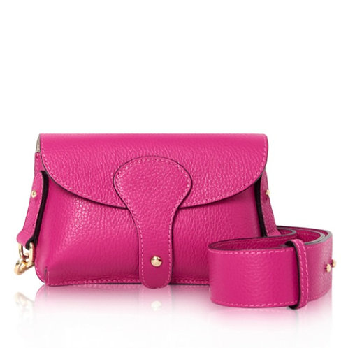 Bright Pink Chunky Strap Bag