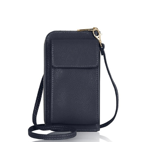 Navy Wallet/ Crossbody Phone Bag