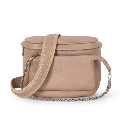 Blush Pouch Crossbody Bag