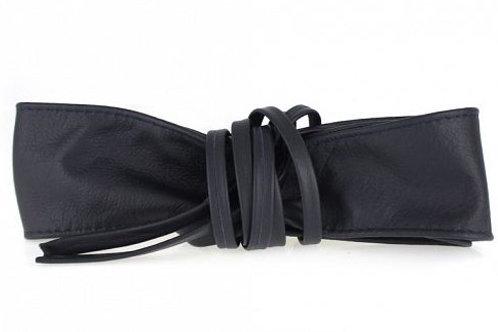 Navy Obi Style Waist Belt
