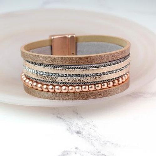 Rose Gold Magnet Bracelet