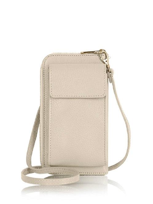 Cream Wallet/ Crossbody Phone Bag