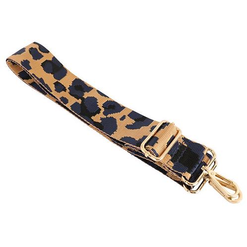 Gold & Blue Camo Bag Strap