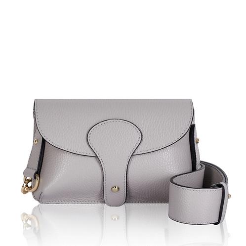 Grey Chunky Strap Crossbody Bag