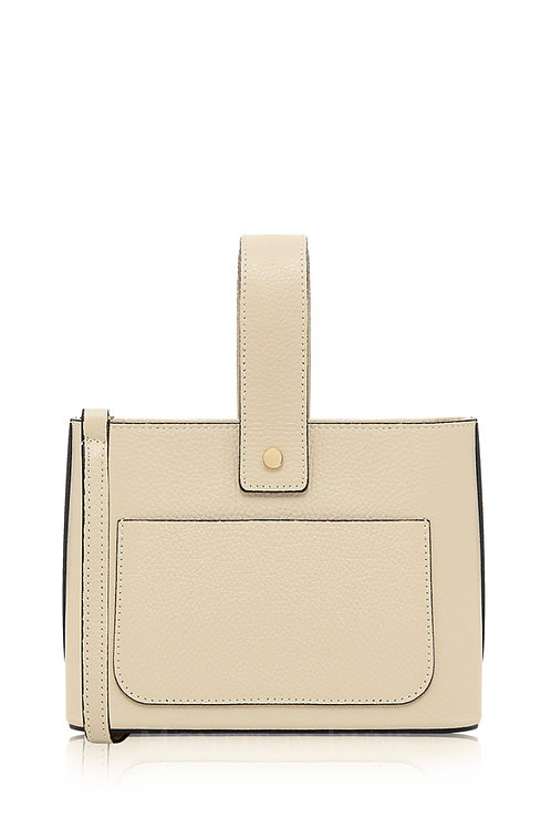 Cream Box/Crossbody Bag