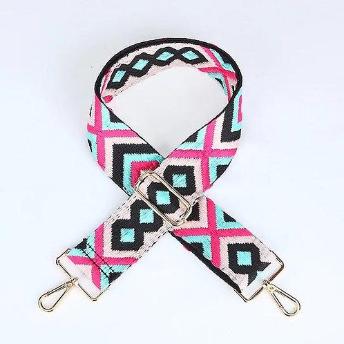 Pink & Mint Mix Bag Strap