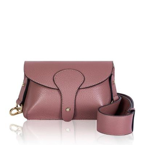 Dusty Pink Chunky Strap Crossbody Bag