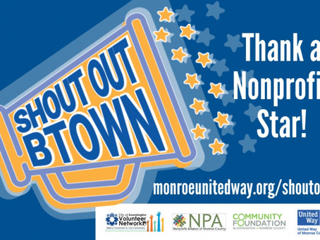 """United Way of Monroe County """"Shout Out"""""""