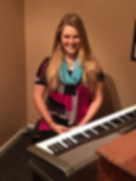Sarah Turner, giving Piano Lessons