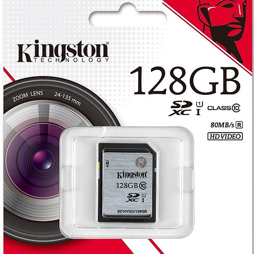 KINGSTON 128GB SD CARD