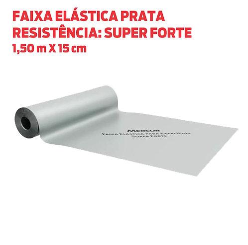 FAIXA ELÁSTICA PRATA (SUPER FORTE)