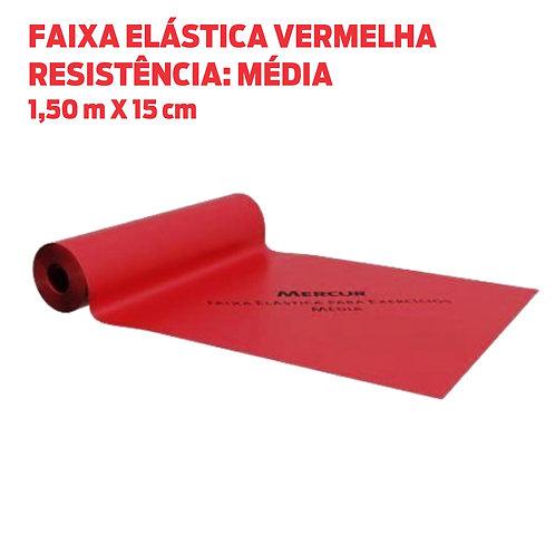 FAIXA ELÁSTICA VERMELHA (MÉDIA)