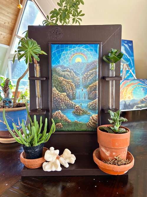 Canyon of Enchantment - Original Painting with Custom Living Frame