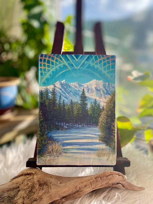 Bright Winter Day - Original Painting