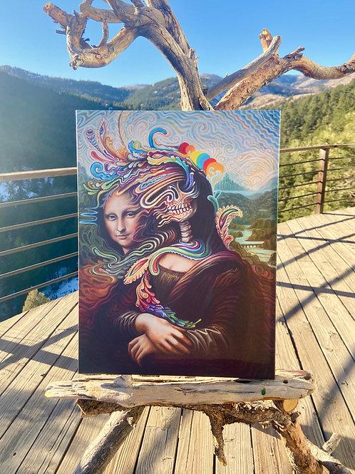 Melty Lisa ~ Canvas Print