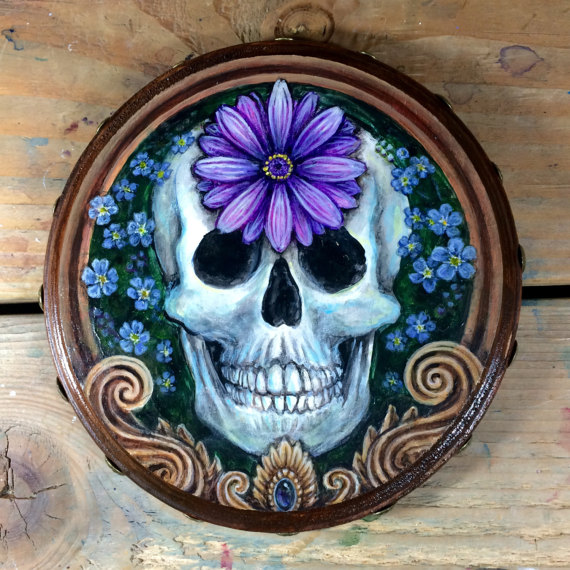 """Forget Me Not"" - Skull Series"