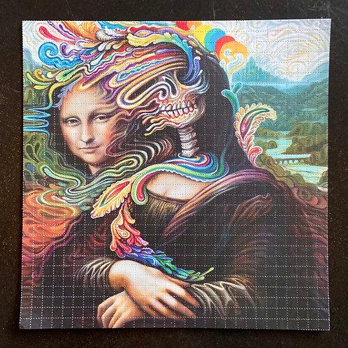 Melty Lisa ~ Blotter Art