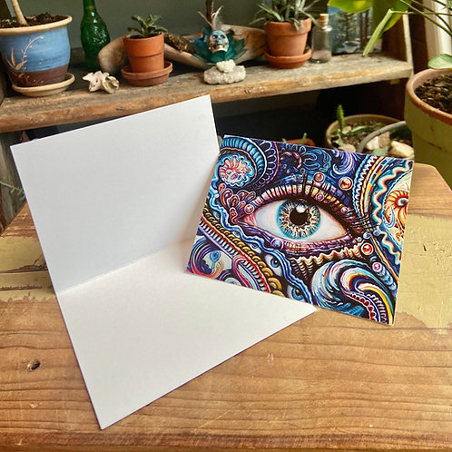 Reflection 1 Greeting Card