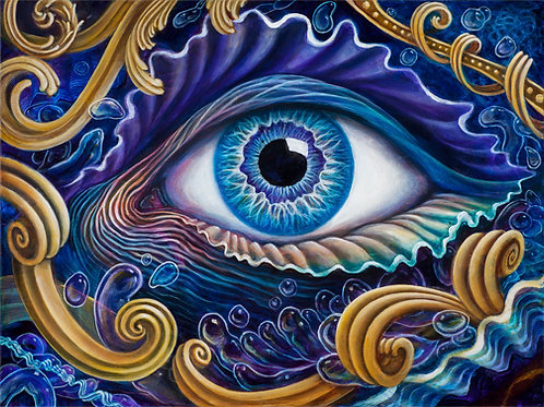 Eye of Poseidon ~ Paper Print