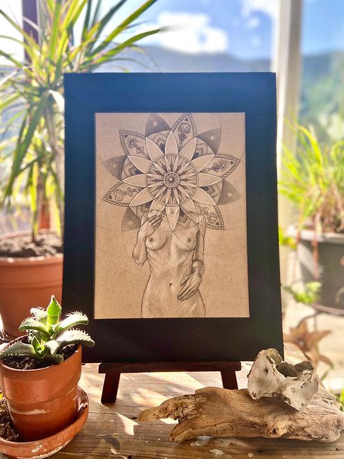Florescence Original Drawing