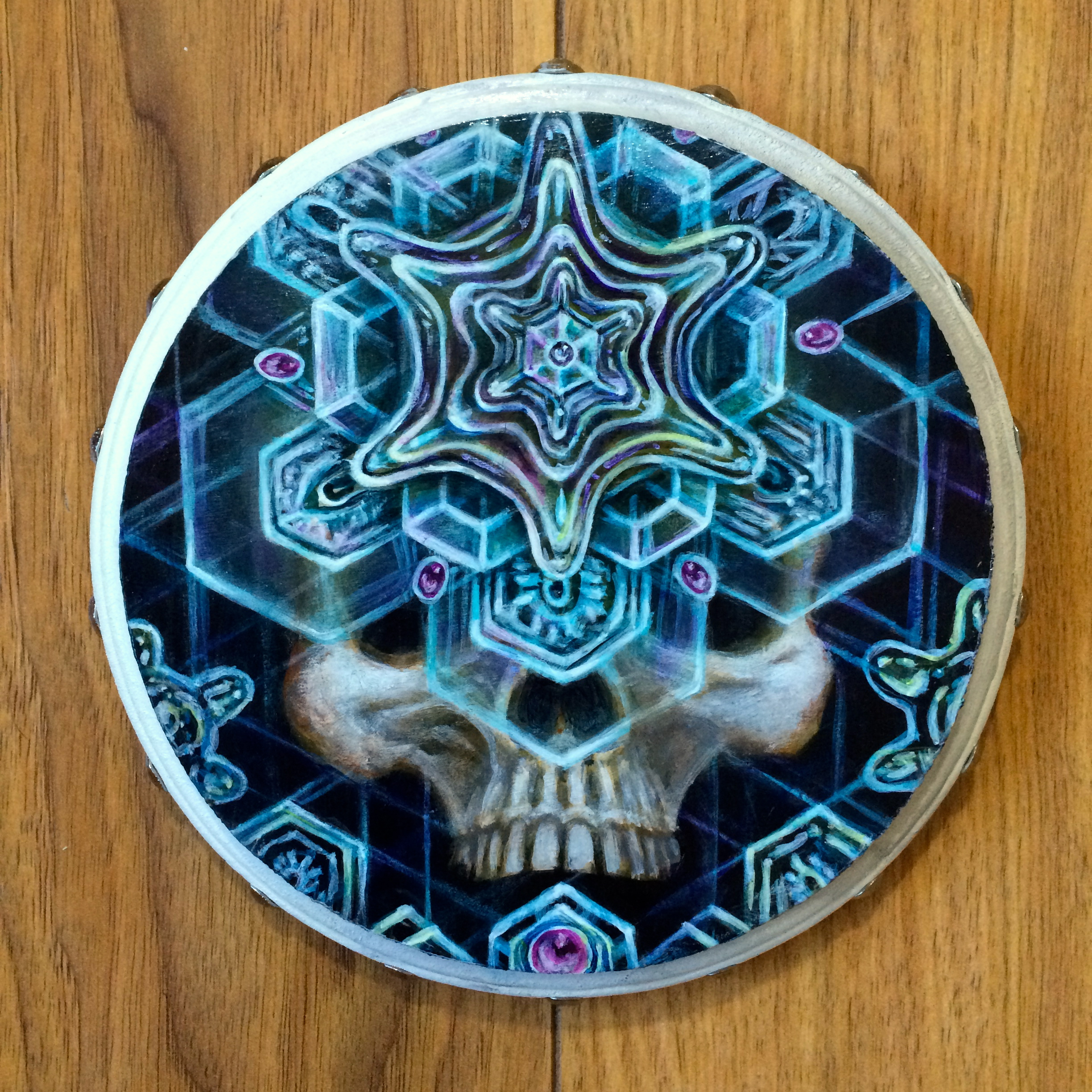 Crystalline Water Skull