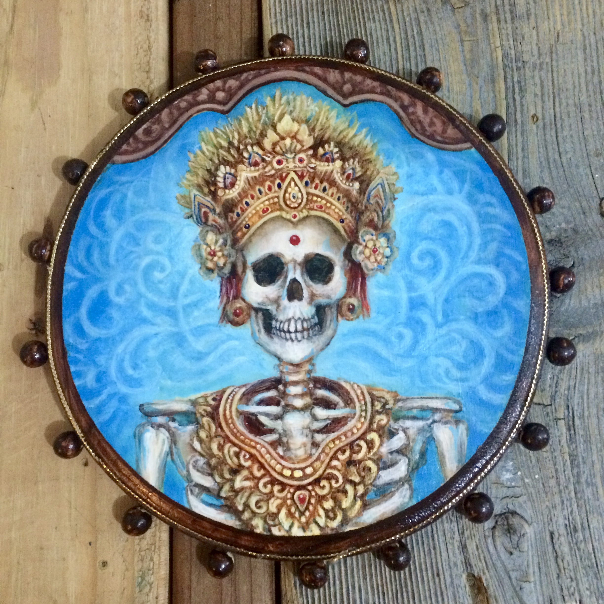 The Dancer- Balinese Skeleton