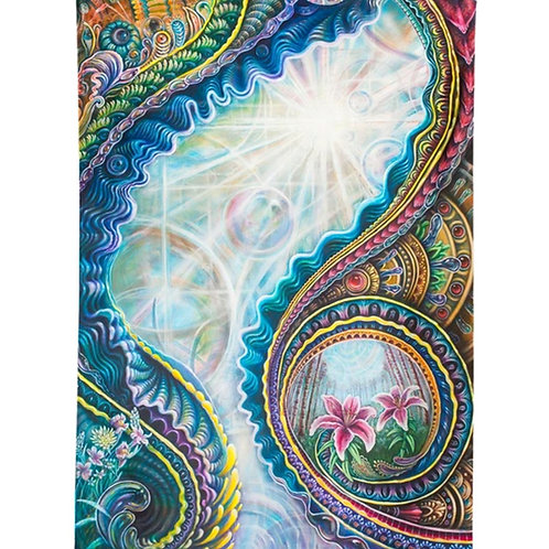 Portal: Electric Forest Tapestry