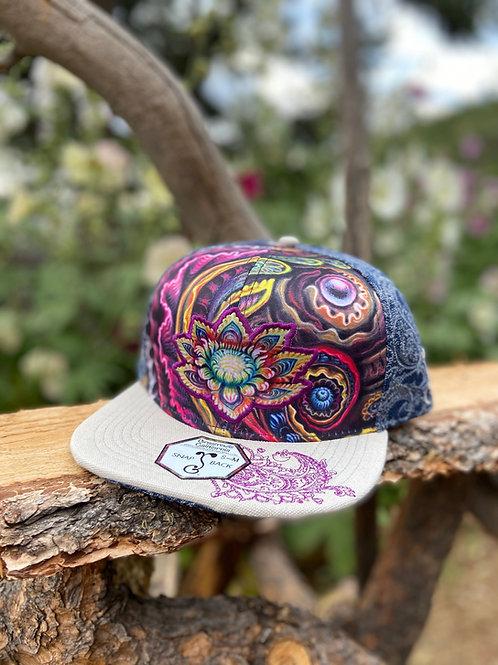 Flower Power Snapback Hat