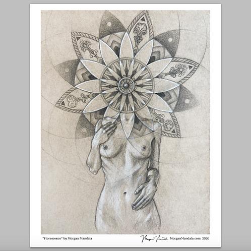 Florescence ~ Paper Print