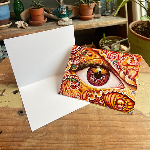 Reflection 5 Greeting Card
