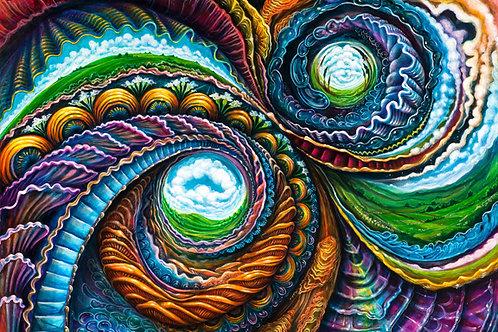 Inner Worlds ~ Paper Print